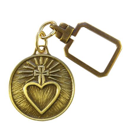 0121PC-Porte-clefs-religieux-Sacre-Coeur