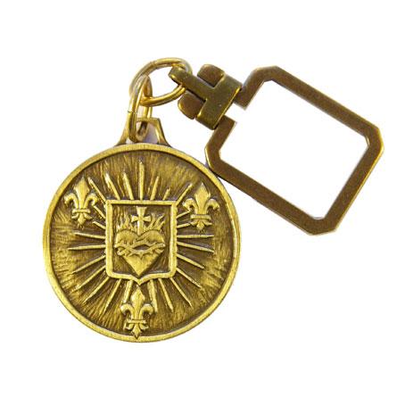 0124PC-Porte-clefs-religieux-Sacre-Coeur