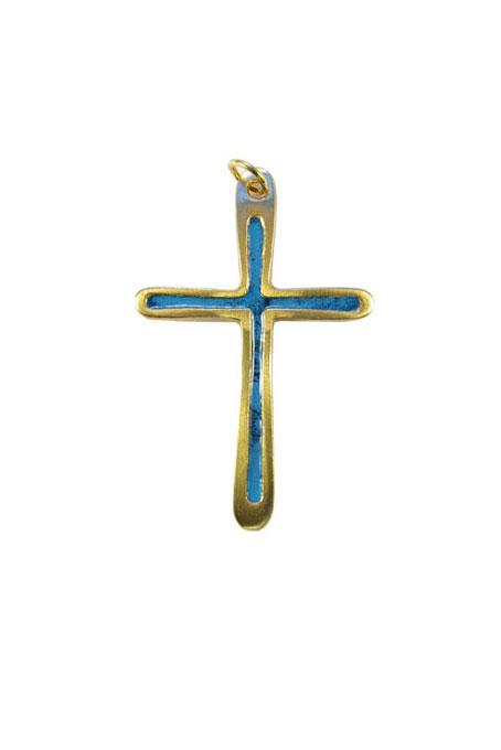 0211-Croix-pendentif-cadeau-communion-emaux-bleu-7cm