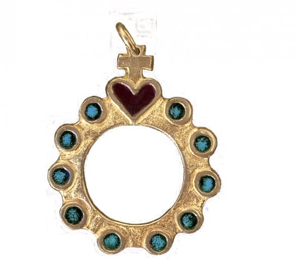 chapelet dizainier bronze 0119