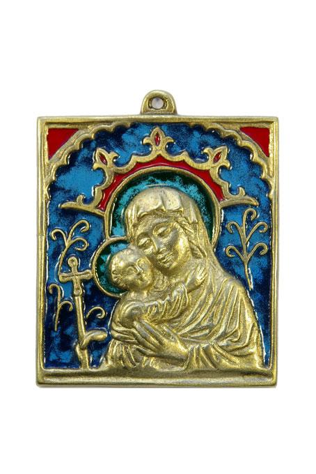 0128-Vierge-Enfant-cadre-9×9-5