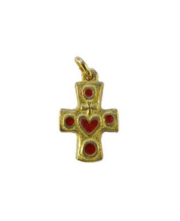 0176-Croix-bijou-Sacre-Coeur-rouge-2-5cm
