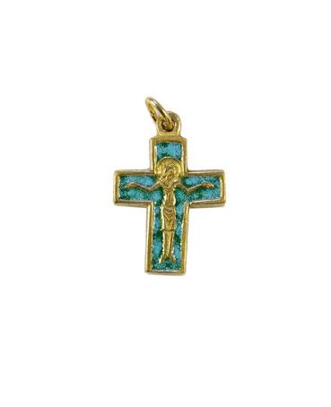 0181-cadeau-communion-croix-christ-vert-2-6cm