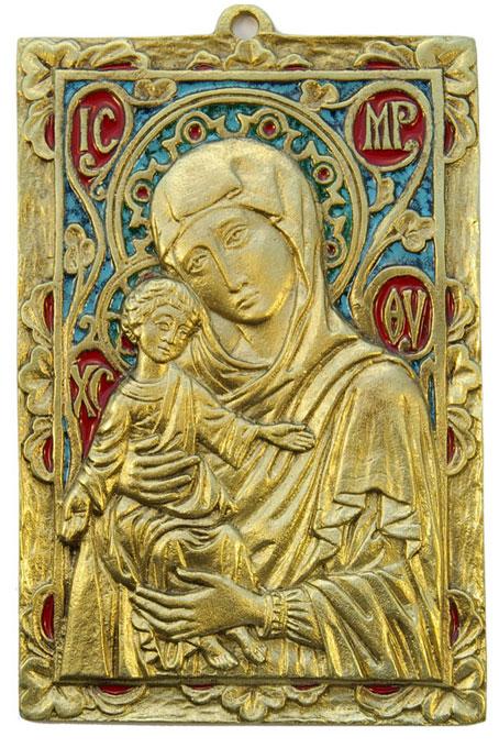 037-Vierge-Enfant-cadre-11x16cm