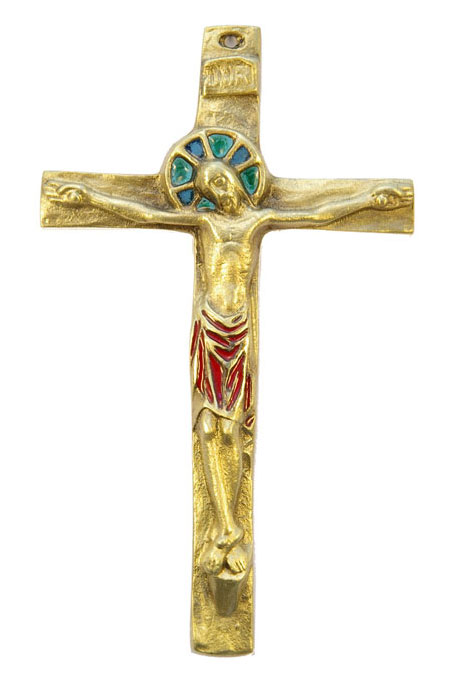 092-Crucifix-rouge-14-5cm