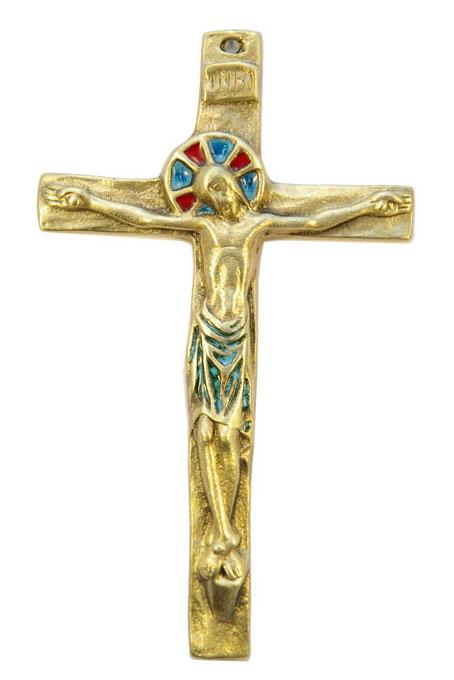 092-Crucifix-vert-14-5cm