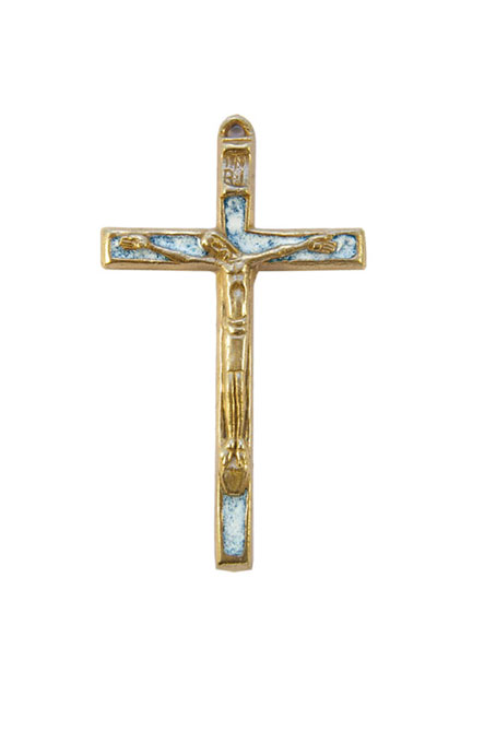 370-Christ-emaille-blanc-bleu-coin-priere-9cm