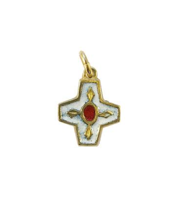 N73-Croix-pendentif-enfant-emaille-blanc-2cm