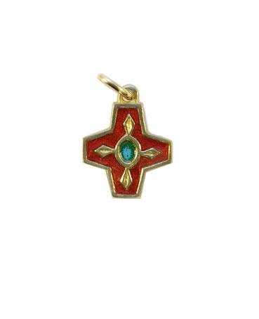 N73-Croix-pendentif-enfant-emaille-rouge-2cm
