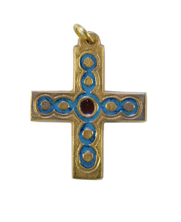 013-Petite-croix-bijou-email-bleu-5cm