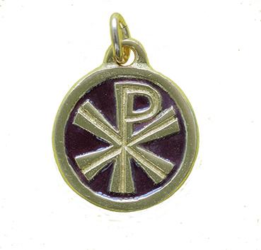 0143 médaille bronze rouge