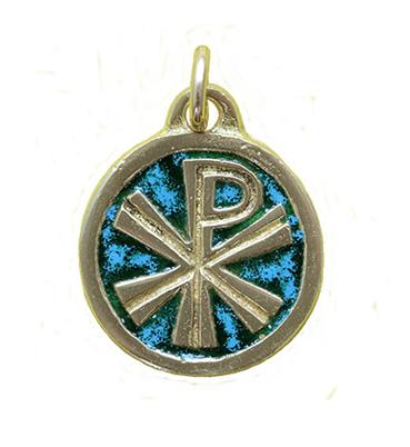 0143 médaille bronze vert