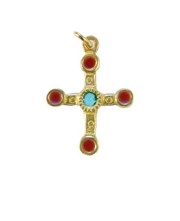 0193-cadeaux-religieux-croix-email-rouge-3-4cm