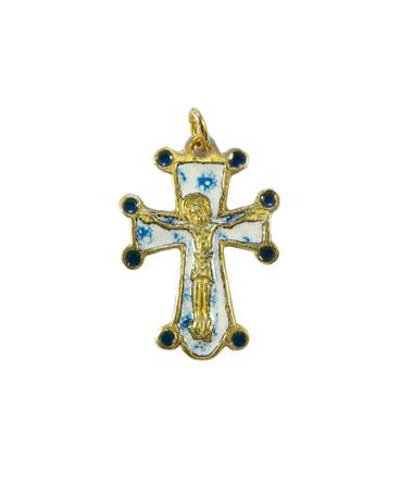 0197-pendentif-bijou-croix-Christ-cadeau-bapteme-blanc-bleu-3-2-cm