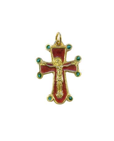 0197-pendentif-bijou-croix-Christ-cadeau-bapteme-rouge-3-2-cm