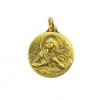Médaillon de sainte Marie-Madeleine. Petite médaille en bronze de 2,3 cm de haut