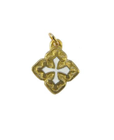 087-Croix-occitanee-pendentif-email-blanc-2-5cm