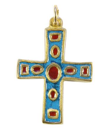 780-croix-bijou-communion-bleu-4-5cm