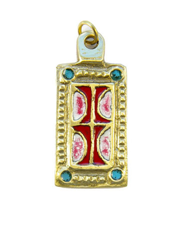 850-Pendentif-emaille-blanc-rouge-medieval-5-5cm