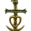 croix camarguaise pendentif