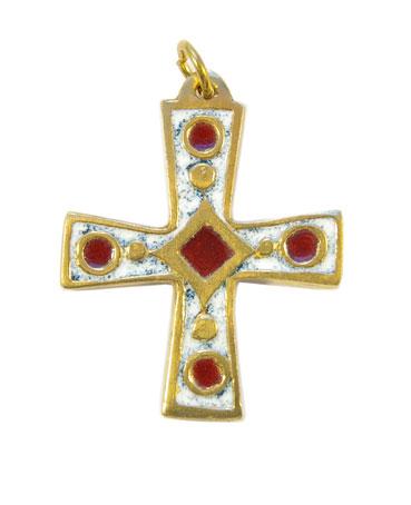 940-Croix-bijou-pendentif-emaille-blanc-4-7cm