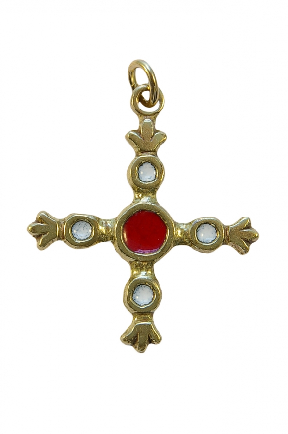 B3-croix-fleuronnee-cabochons-blanc-4-cm