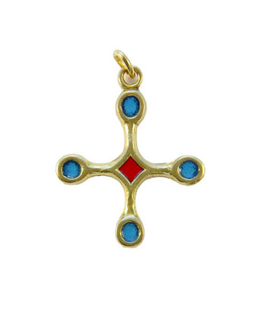 B4-pendentif-religieux-croix-bronze-email-bleu-3-9-cm
