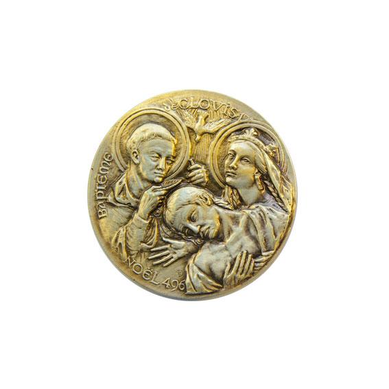 collection-Medaille-historique-Bapteme-Clovis-CL50