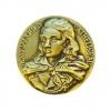 Médaille historique en bronze sculpté de Jacques Cathelineau, dit le Saint d'Anjou, premier Généralissime de l'Armée catholique et royale, mort au combat le 14 juillet 1793