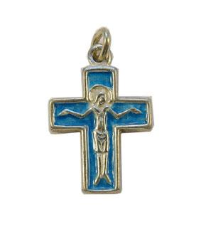 NA0181-croix-argent-Christ-cadeau-bapteme-email-bleu-2-6cm