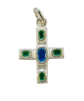 NAB5-bijou-religieux-pendentif-croix-argent-email-cabochon-coeur-bleu-3cm