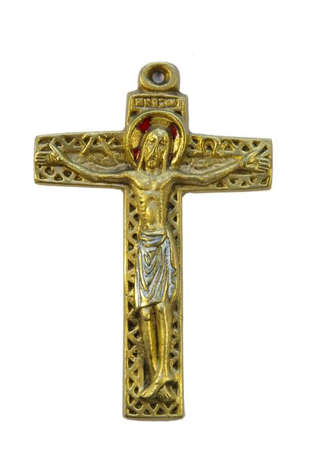 10-symboles-Christ-croix-motif-geometrique-emaux-blanc-12cm