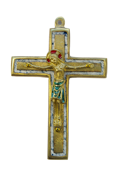 955-800-croix-emaillee-Christ-blanc-art-religieux-12cm