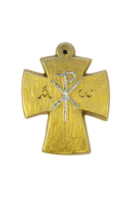 L27-blanc-Alpha-Omega-Chrisme-croix-bronze-email-9-4cm