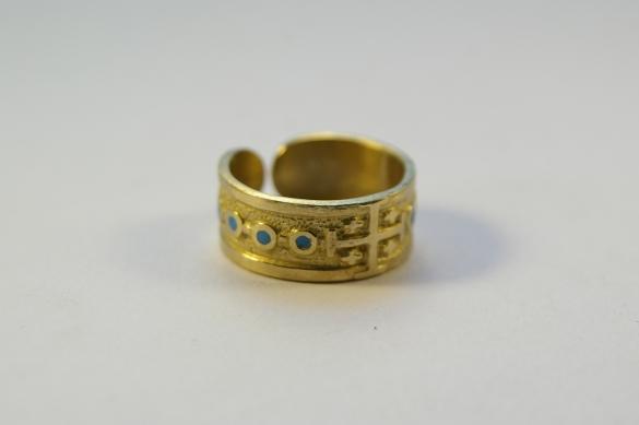 Dizainier-bague-ouverte-bronze-emaux-52-66-N104
