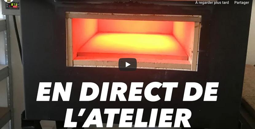 Vidéo sur notre chaîne YouTube : Villefagnan, en direct de l'atelier