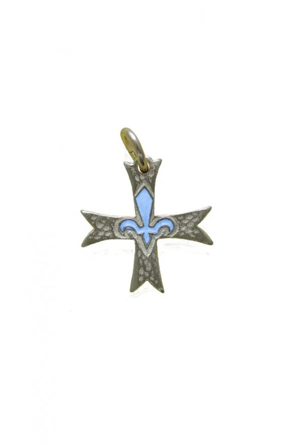 Croix scoute blanc