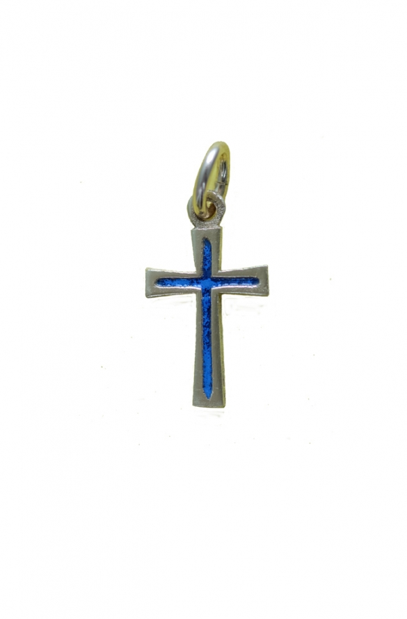 Croix pendentif bronze v20