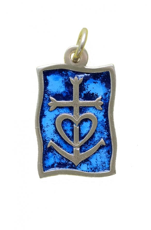Pendentif v22 bleu